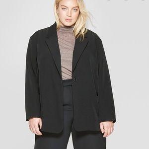 Prologue black oversized blazer NWT. Size XL